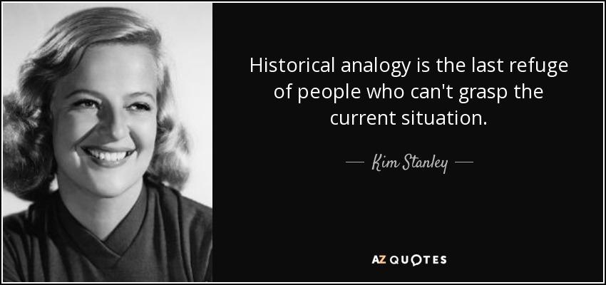 historische analogieën